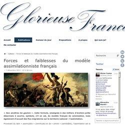 Forces et faiblesses du modèle assimilationniste français – Glorieuse France