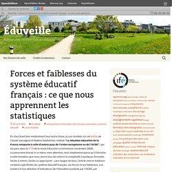 Forces et faiblesses du système éducatif français : ce que nous apprennent les statistiques