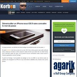 Faille dans iOS 9 - Attention à votre iPhone