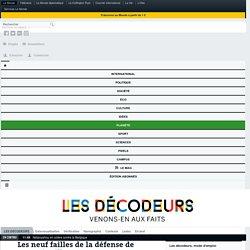 Les neuf failles de la défense de François Fillon
