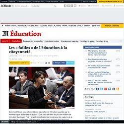 Les «failles» de l'éducation à la citoyenneté