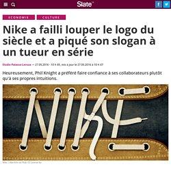 Nike a failli louper le logo du siècle et a piqué son slogan à un tueur en série