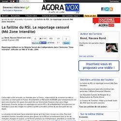 La faillite du RSI. Le reportage censuré (M6 Zone Interdite)