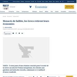 Grèce : panique bancaire