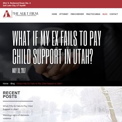 What if My Ex Fails to Pay Child Support in Utah?