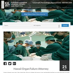 Catastrophic Injury Attorney Hawaii