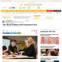 The Real Failure Of Common Core