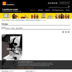Fair-play de Tove Jansson aux éditions La Peuplade