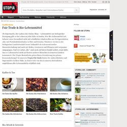 Fair Trade & Bio-Lebensmittel