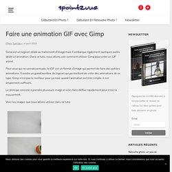 Faire une animation GIF avec Gimp