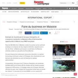 Faire du business en Malaisie