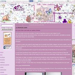 tuto pour faire une boite en carton à tiroirs - les créations de lilas