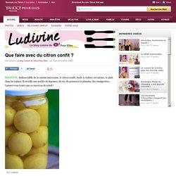 Le blog Cuisine de Yahoo! Pour Elles