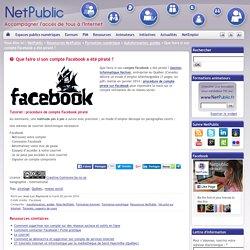 Que faire si son compte Facebook a été piraté ?