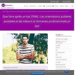 Que faire après un bac STMG : les débouchés scolaires et pro