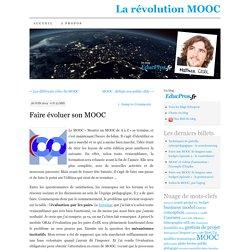 Faire évoluer son MOOC