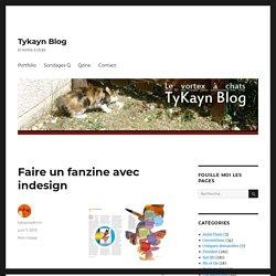 Faire un fanzine avec indesign – Tykayn Blog