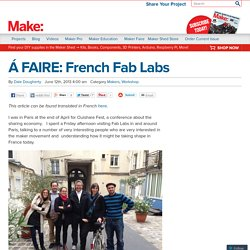 Á FAIRE: French Fab Labs