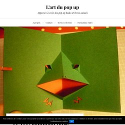TUTO : comment faire une grenouille pop up toute en délicatesse
