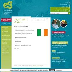 Faire un stage in Irlande - Euroguidance
