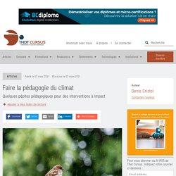 Faire la pédagogie du climat