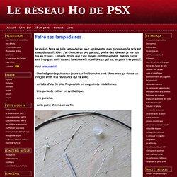 Faire ses lampadaires - Le réseau Ho de PSX