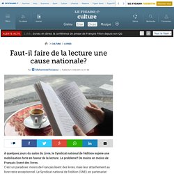 Faut-il faire de la lecture une cause nationale?