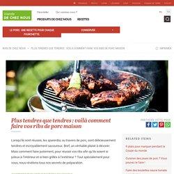 Faire vos ribs de porc maison — Astuces et recettes