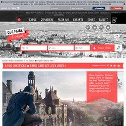 Que faire à Paris A vos Joysticks ◆ Paris dans les jeux vidéo !