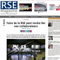 Faire de la RSE peut rendre fier ses collaborateurs
