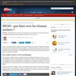 BYOD : que faire avec les réseaux sociaux ? - ZDNet