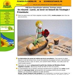 Faire du savon avec de l'huile végétale recyclée