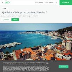 Que faire à Split quand on aime l'histoire ?