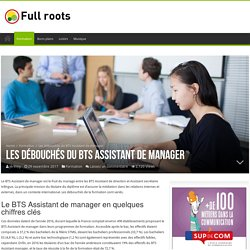 Que faire après avoir validé un BTS Assistant Manager ?