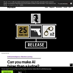 Can you make AI fairer than a judge? Play our courtroom algorithm game