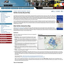 Fairfax County Bicycle Map