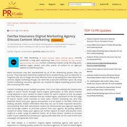 Fairfax Insurance Digital Marketing Agency Discuss Content Marketing