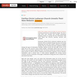 Fairfax Christ Lutheran Church Unveils Their New Website