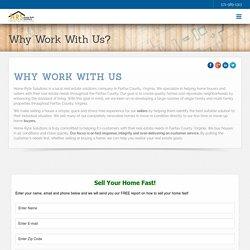 Why Work With Fairfax Virginia Fast Cash Home Buyer - HomeRyteSolutions
