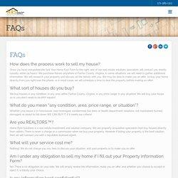 Fairfax Virginia Fast Cash Home Buying FAQ - HomeRyteSolutions