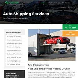 Auto Shipping Service in Hicksville