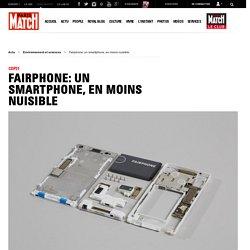 COP21 - Fairphone: un smartphone, en moins nuisible