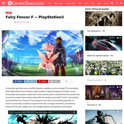 Fairy Fencer F - PlayStation3
