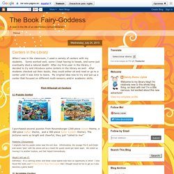 The Book Fairy-Goddess: Centers in the Library