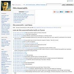 FAIs Associatifs - WikiUpLib