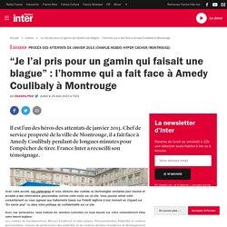 """""""Je l'ai pris pour un gamin qui faisait une blague"""" : l'homme qui a fait face à Amedy Coulibaly à Montrouge"""