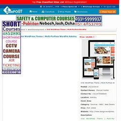 multi-purpose wordpre, Askoley, Faisalabad, Rawalpindi - FreePost-120233