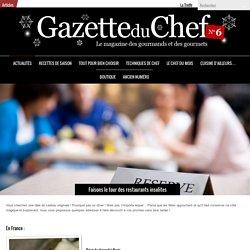 Faisons le tour des restaurants insolites-La Gazette du Chef