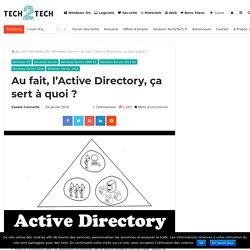 Active Directory, ça sert à quoi ?