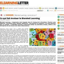 Ce qui fait évoluer le Blended Learning